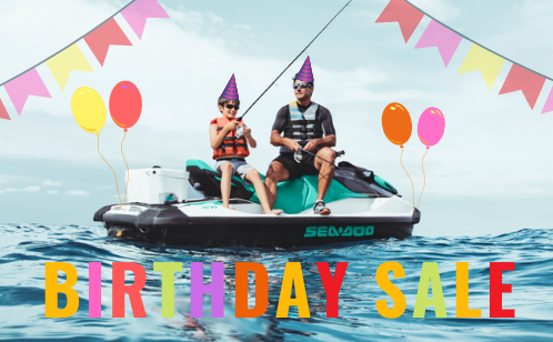 Sea-Doo and Can-Am Birthday Sale - 14th December 2019