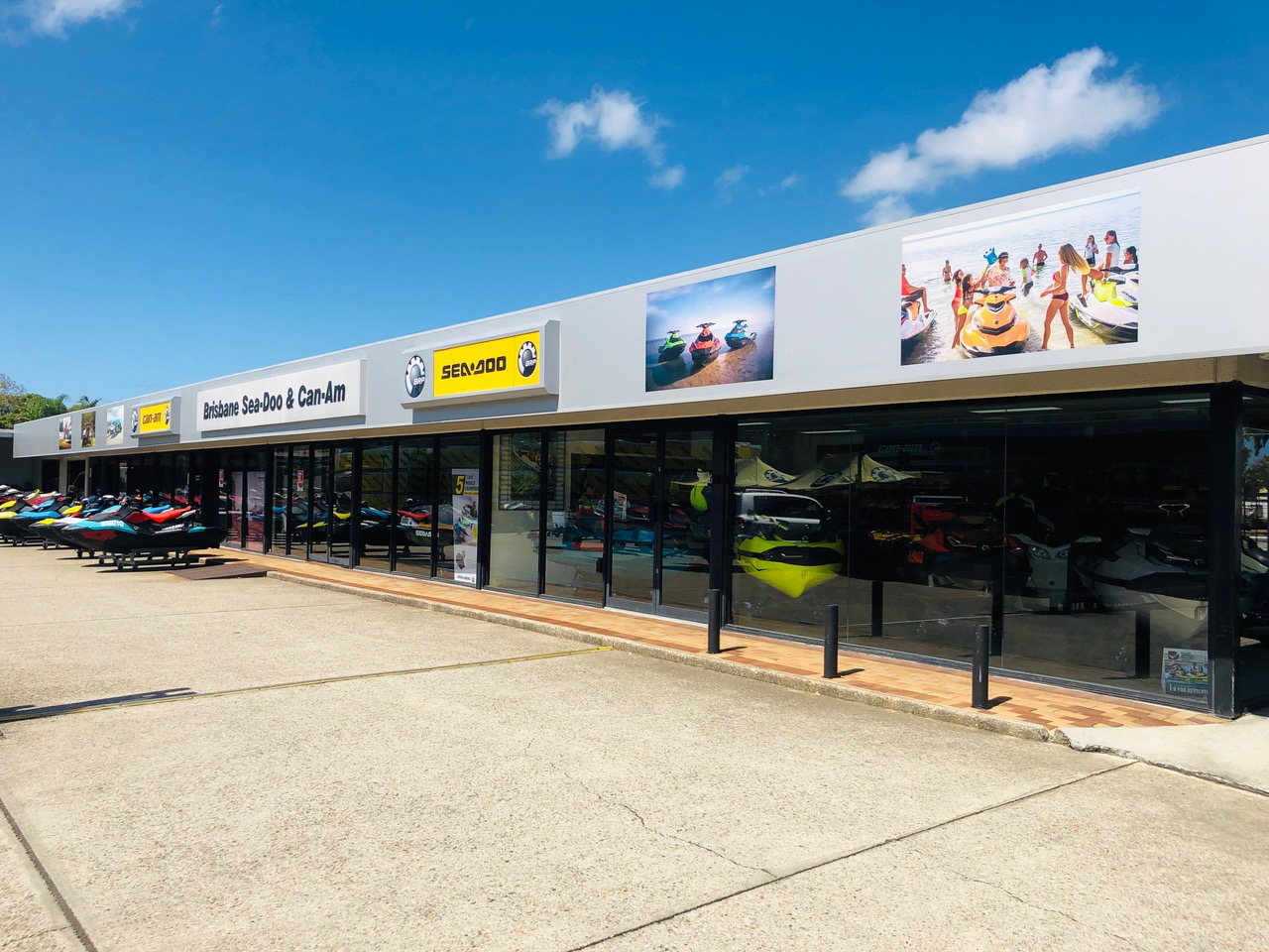 Brisbane Sea-Doo and Can-Am store front